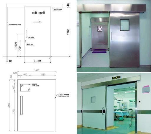 Đặc điểm sản xuất của cửa phòng sạch như thế nào?